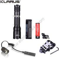 Lampe Torche Klarus XT10 - Kit airsoft - 1060Lumens