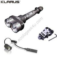 Lampe Torche Klarus XT20 - 2000Lumens - Kit airsoft