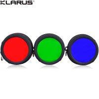 Filtres souples Klarus FT30 58mm pour lampe Klarus XT30 et XT30R
