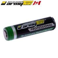 Batterie ARMYTEK 18650 - 3200mAh 3.7V protégée Li-ion Panasonic