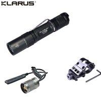 Lampe Torche Klarus XT2C - 1100Lumens - Kit airsoft