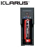 Chargeur Klarus K1 USB 1 baie 18650 Li-ion, Ni-MH, Ni-Cd et LiFePO4