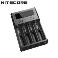 Chargeur Nitecore NEW i4 pour batterie Li-ion, IMR, LiFePO4, Ni-MH et Ni-Cd