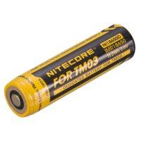 Batterie Nitecore NL18650D Li-Mn pour lampe Nitecore TM03
