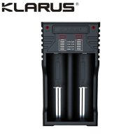 Chargeur Klarus K2 USB, 2 baies Powerbank Li-ion, Ni-MH, Ni-Cd et LiFePO4