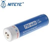 Batterie Niteye 14500 - 750mAh 3.7V protégée Li-ion