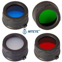Filtres pour lampe Niteye 38mm pour DDR26, RRT26, 3M PRO