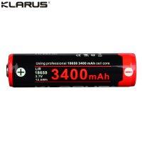Batterie Klarus 18650 - 3400mAh 3.7V protégée Li-ion Panasonic