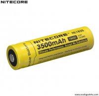 Batterie Nitecore NL1835 18650 - 3500mAh 3.6V protégée Li-ion