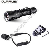 Lampe torche tactique Klarus XT11GT kit airsoft - 2000Lumens