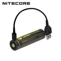 Batterie Nitecore NL1826R 18650 - 2600mAh 3.6V protégée Li-ion