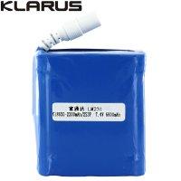 Batterie Klarus RS80 pour lampe RS80