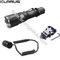 Lampe torche Klarus XT12S Kit airsoft - 1600Lumens