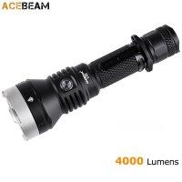 Lampe Torche ACEBEAM L30 - 4000Lumens rechargeable