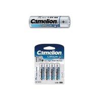 Piles Lithium Camelion LR06 (AA) - Pack de 2 piles