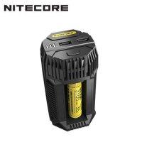 Nitecore V2, chargeur de voiture, pour batteries Li-ion, IMR