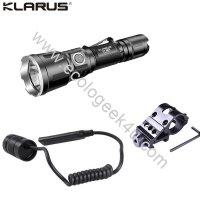 Lampe torche tactique Klarus XT11X kit airsoft - 3200Lumens