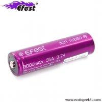 Batterie EFEST IMR 18650 - 3000mAh 35A