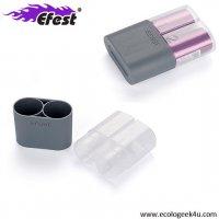 Etui Efest rangement et protection pour 2 accus / batteries