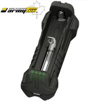 Chargeur Armytek Handy C1 - batteries Li-ion et IMR - powerbank