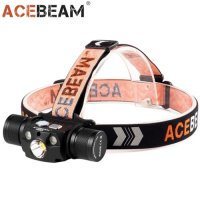 Lampe Frontale ACEBEAM H30 - 4000Lumens rechargeable