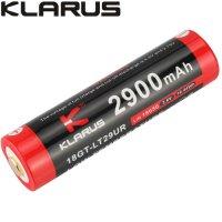 Batterie Klarus 18GT-LT29UR 18650 2900mAh Ultra basse température lampe XT11X, XT2CR