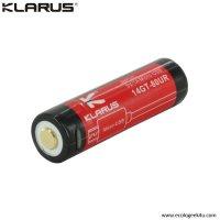 Batterie Klarus 14GT80UR - 800mAh protégée rechargeable par Micro USB