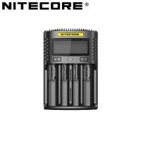 Chargeur Nitecore UM4  pour batteries li-ion, IMR, LiFePO4, Ni-MH, Ni-Cd