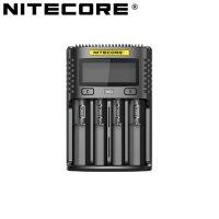 Chargeur Nitecore UMS4 pour batteries li-ion, IMR, LiFePO4, Ni-MH, Ni-Cd