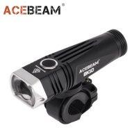 Lampe Torche ACEBEAM BK10 - 2000Lumens pour guidon ou casque de vélo et VTT