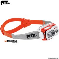 Lampe Frontale Petzl SWIFT RL 900Lumens rechargeable compacte