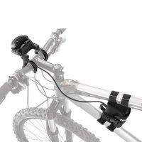 Fixation lampe Petzl ULTRA, DUO Z2, DUO S pour guidon de vélo