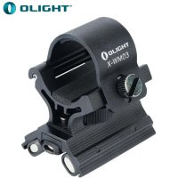 Support arme ALU Olight X-WM03 - pour lampe de diamètre 23 à 26mm