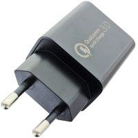 Chargeur adaptateur secteur Nitecore QC 3A 220V vers 1xUSB 3000mA