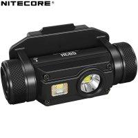 Lampe frontale Nitecore HC65M rechargeable - 1000Lumens fixation NVG sur casque