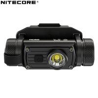 Lampe frontale Nitecore HC60M rechargeable - 1000Lumens fixation NVG sur casque